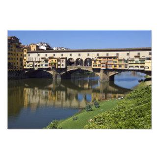 Italy, Tuscany, Florence, The Ponte Vecchio 2 Photographic Print