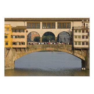 Italy, Tuscany, Florence, The Ponte Vecchio Photographic Print