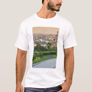 Italy, Tuscany, Florence. View of city from T-Shirt