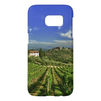 Italy, Tuscany, Greve. The vineyards of Castello