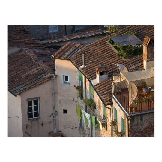 Italy, Tuscany, Lucca, View of the town and