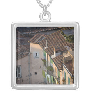 Italy, Tuscany, Lucca, View of the town and 6 Silver Plated Necklace