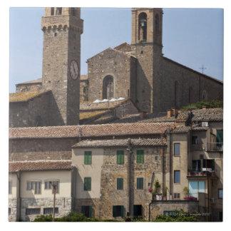 Italy. Tuscany. Montalcino 2 Tile