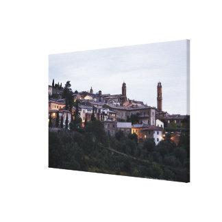 Italy,Tuscany,Montalcino Canvas Print