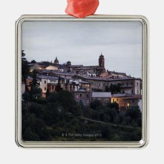 Italy,Tuscany,Montalcino Christmas Ornament