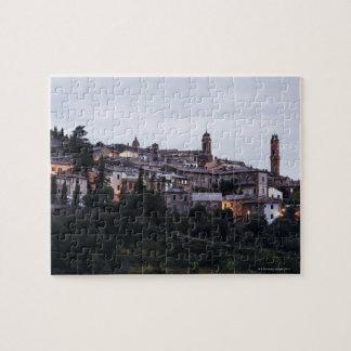 Italy,Tuscany,Montalcino Jigsaw Puzzle