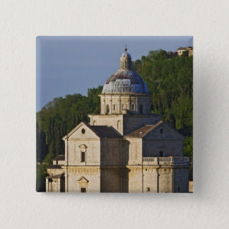 Italy, Tuscany, Montepulciano. Church of San 15 Cm Square Badge