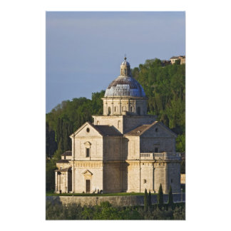 Italy, Tuscany, Montepulciano. Church of San Photo Print