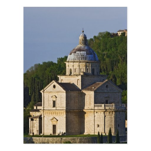 Italy, Tuscany, Montepulciano. Church of San Postcards