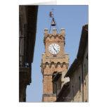 Italy. Tuscany. Pienza. 2 Greeting Cards