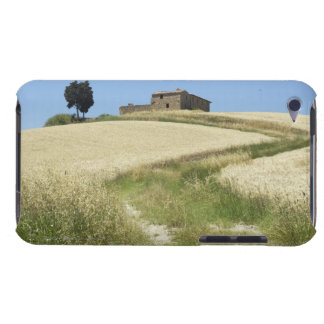 Italy, Tuscany, Pienza, Val d'Orcia, Wheat field Barely There iPod Case