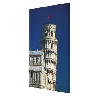 Italy Tuscany Pisa Campo dei Miracoli Stretched Canvas Print