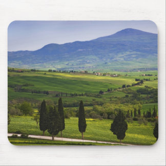 Italy, Tuscany. Scenic of the Tuscan Mouse Mat