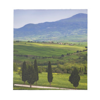Italy, Tuscany. Scenic of the Tuscan Notepad