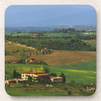 Italy, Tuscany. Scenic of the Val d'Orcia Coaster