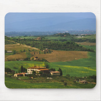 Italy, Tuscany. Scenic of the Val d'Orcia Mouse Mat