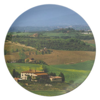 Italy, Tuscany. Scenic of the Val d'Orcia Plate