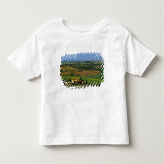 Italy, Tuscany. Scenic of the Val d'Orcia Toddler T-Shirt