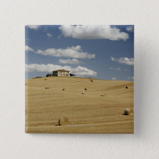 Italy,Tuscany,Val d'Orcia 15 Cm Square Badge