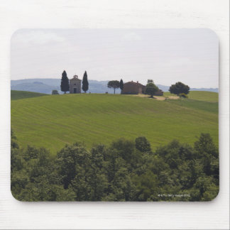 Italy, Tuscany, Val D'Orcia, Landscape 2 Mouse Mat