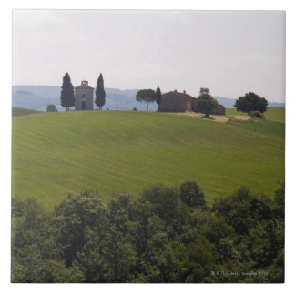 Italy, Tuscany, Val D'Orcia, Landscape 2 Tile