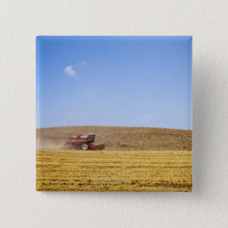 Italy. Tuscany. Val D'Orcia (Orcia Valley) 15 Cm Square Badge