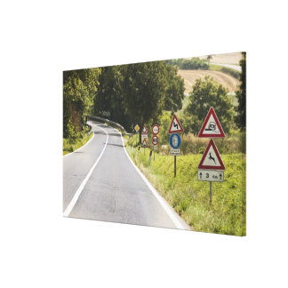 Italy. Tuscany. Val D'Orcia (Orcia Valley) 2 Canvas Print