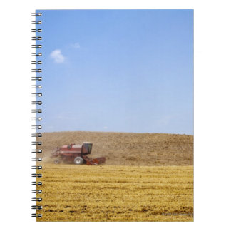 Italy. Tuscany. Val D'Orcia (Orcia Valley) Spiral Notebook