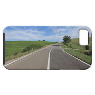 Italy, Tuscany, Val d'Orcia, Road Case For The iPhone 5
