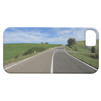 Italy, Tuscany, Val d'Orcia, Road iPhone 5 Cover