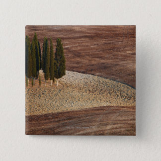Italy,Tuscany,Val d'Orcia,San Quirico d'Orcia 15 Cm Square Badge