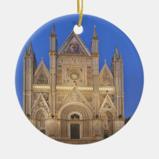Italy, Umbria, Orvieto, Orvieto Cathedral Christmas Ornament