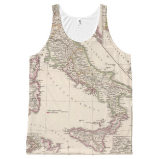 Italy under the Lombards All-Over Print Tank Top