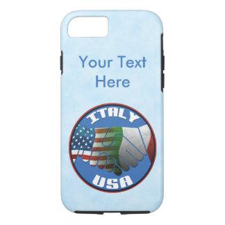 Italy USA Italian American Phone Case