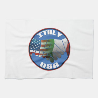 Italy USA Kitchen Towels