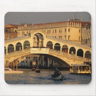 Italy, Veneto, Venice, Canal Grande and Rialto Mouse Mat