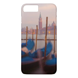Italy, Venice. Anchored gondolas at twilight. iPhone 8 Plus/7 Plus Case