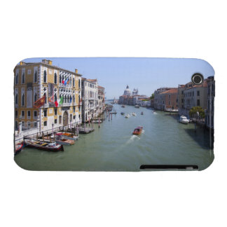 Italy, Venice, Boats on canal in city Case-Mate iPhone 3 Cases