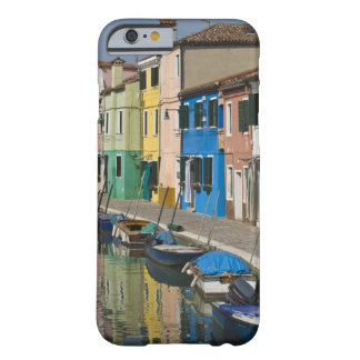 Italy, Venice, Burano. Multicolored houses along 2 Barely There iPhone 6 Case