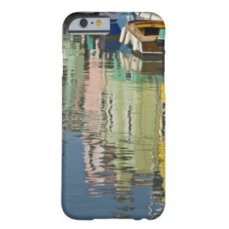 Italy, Venice, Burano. Multicolored houses along Barely There iPhone 6 Case
