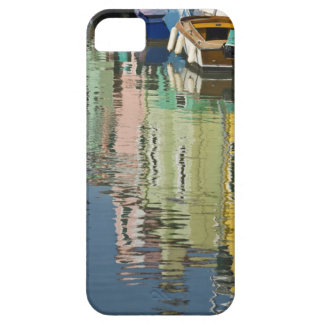 Italy, Venice, Burano. Multicolored houses along iPhone 5 Case