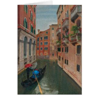 Italy. Venice Card