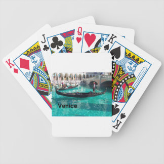 Italy Venice - Gondola! (St.K) Bicycle Playing Cards