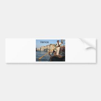 Italy Venice gondola (St.K) Bumper Stickers