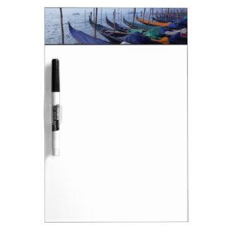 Italy, Venice. Gondolas. Dry Erase Board
