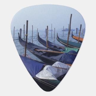 Italy, Venice. Gondolas. Guitar Pick