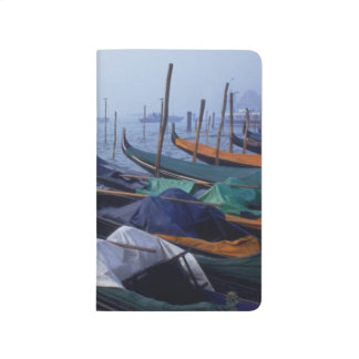 Italy, Venice. Gondolas. Journal