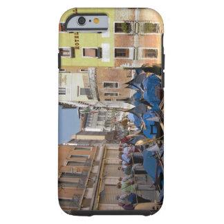 Italy, Venice, gondolas moored along canal Tough iPhone 6 Case
