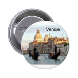 Italy Venice Grand Canal (St.K) 6 Cm Round Badge