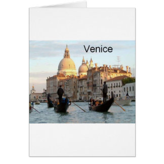 Italy Venice Grand Canal (St.K) Card